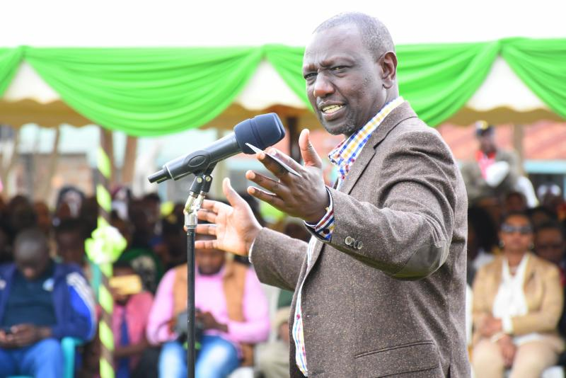 DP Ruto pokes holes into BBI, says bottom-up model is priority