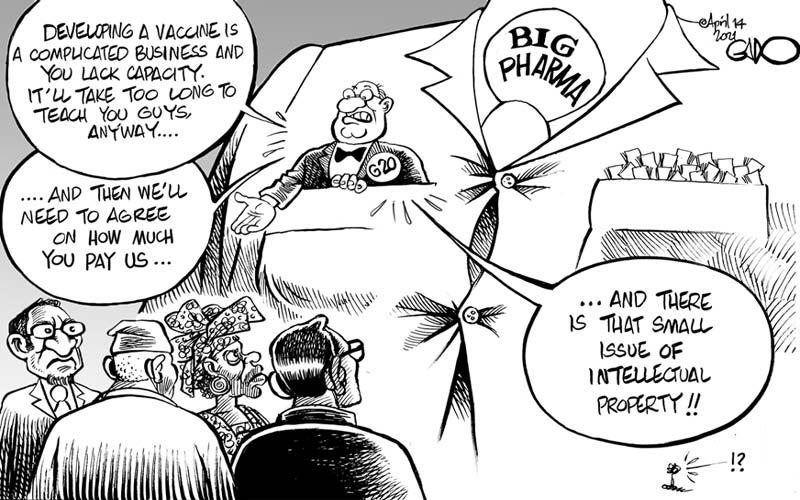 Editorial cartoon: That Deal
