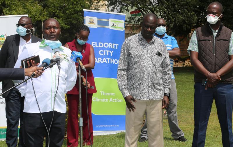 Eldoret City marathon postponed as Covid-19 hits sport