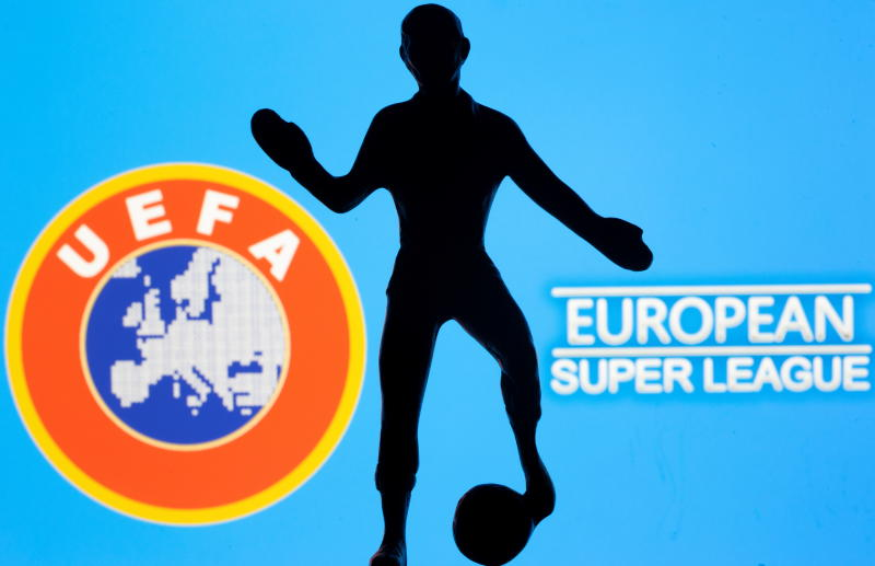 European Super League suspended