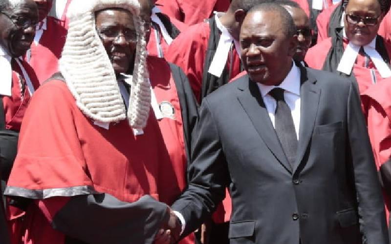 Ex-CJ Maraga: The public should pile up pressure on Uhuru