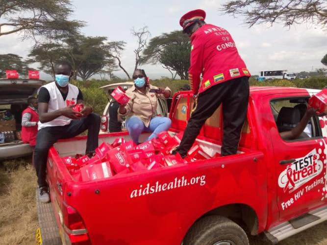 Exclusive: 120,000 condoms used in Naivasha during rally weekend