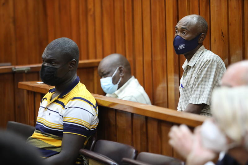 Ex-policemen charged over murder of British aristocrat to know fate in October
