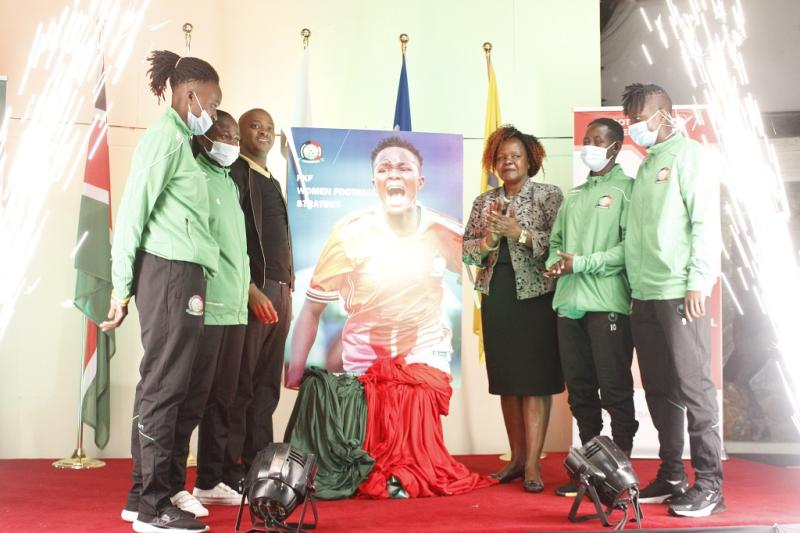 FKF launches strategy for women's football