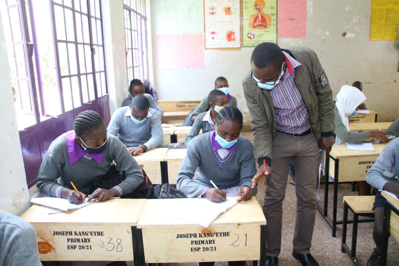 Focus on national exams as Magoha, team in UK