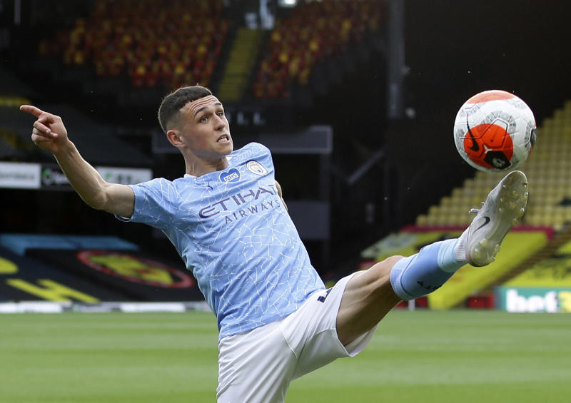 Foden up for two PFA awards as Manchester City dominate shortlists