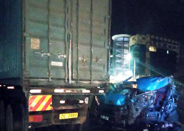 Four matatu passengers die in Athi River crash