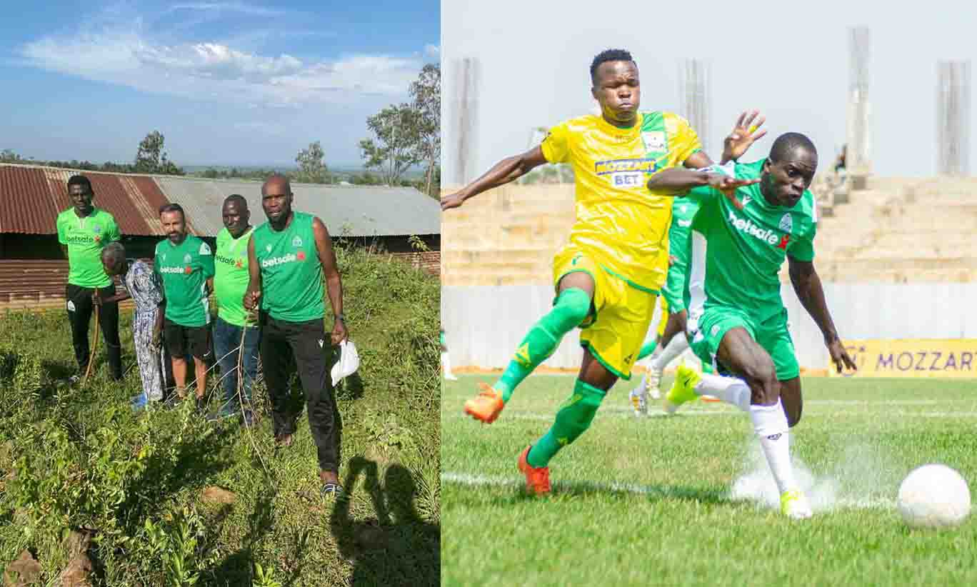 Gor Mahia win after visiting Mzee K'Ogalo's grave in Homa Bay