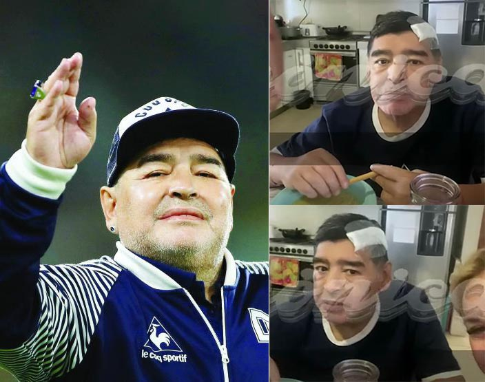 Heartbreaking 'last video' of Maradona days before he died surfaces