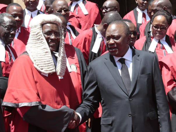 How I will remember President Uhuru Kenyatta– Retired CJ Maraga