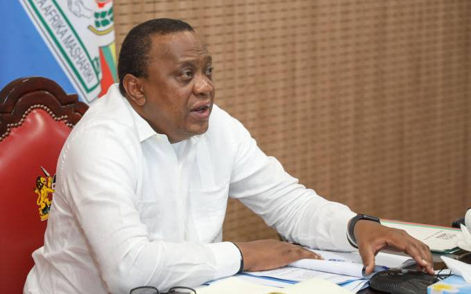 I gave my son a dressing down for breaking Covid-19 rules, says President Uhuru