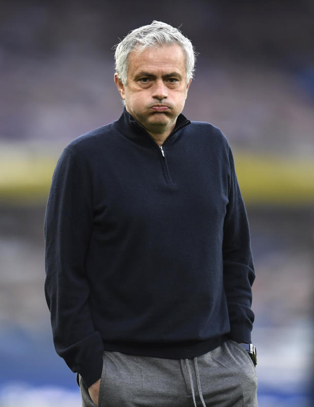 Mourinho claims he won 'half a trophy' at Tottenham : The standard Sports