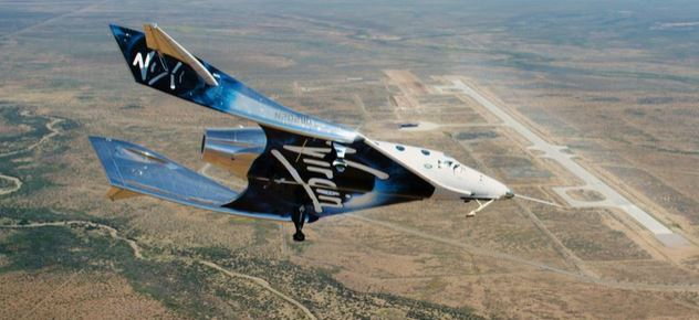 Inside Virgin Galactic's space cabin where tourists will 'achieve dream of spaceflight'