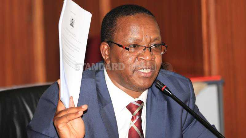 Interior PS Karanja Kibicho hints at reopening of the economy