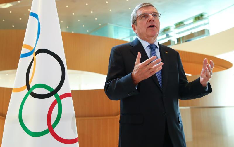 IOC chief Bach pledges safe Tokyo Games