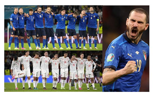 Italy into Euro 2020 final with shoot-out win over Spain