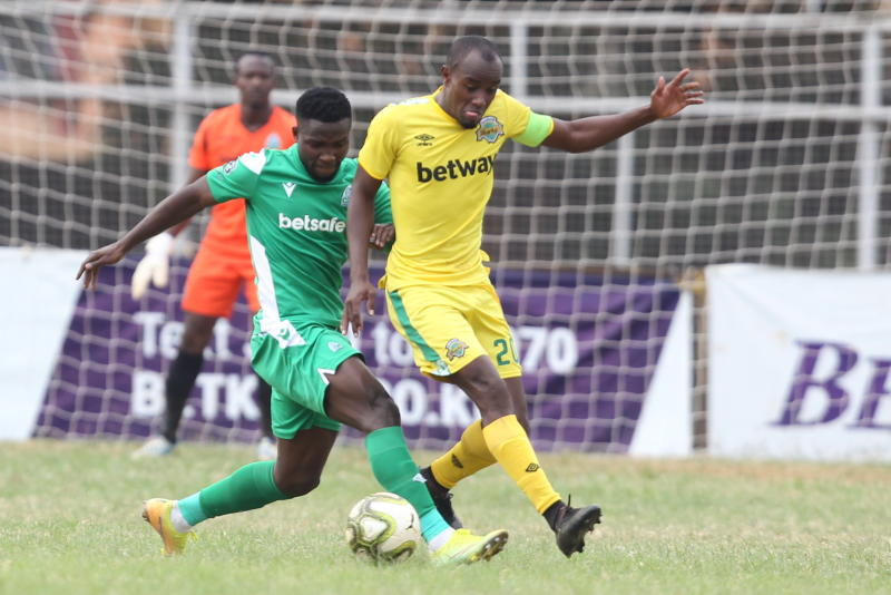Kapaito on target as Sharks complete double over K'Ogalo