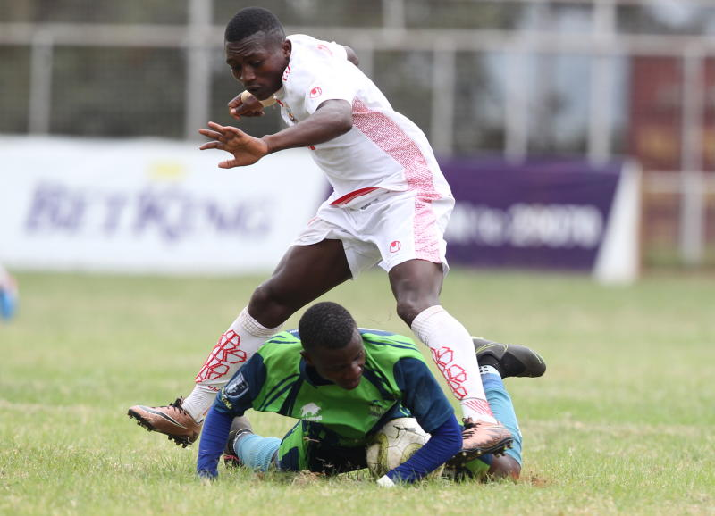 KCB edge out Ulinzi Stars to cut Tusker's lead to four points