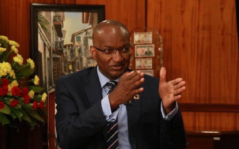 Kenya at risk of defaulting on loans, warns Central Bank boss