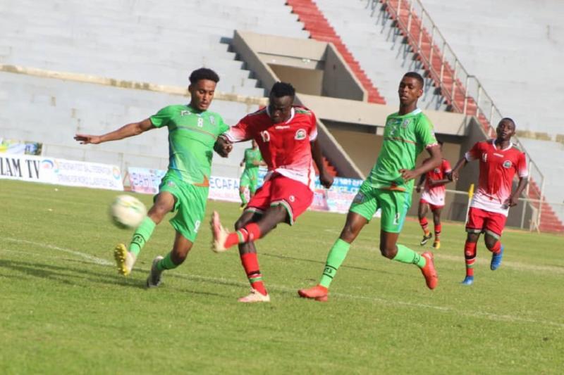 Kenya edge South Sudan to reach semis