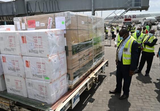 Kenya receives 252,000 Johnson and Johnson vaccines
