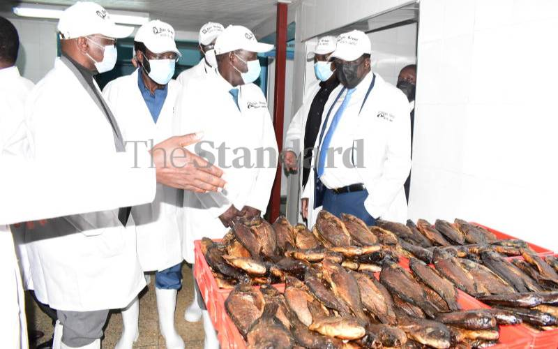 Kenya to export fish to Europe after launch of Sh120m plant