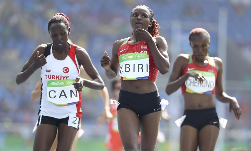 Kenyan track stars praying for Olympic mark at Kasarani
