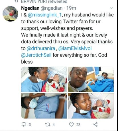 Kenyans on Twitter rescue another pregnant women turned away from city hospital
