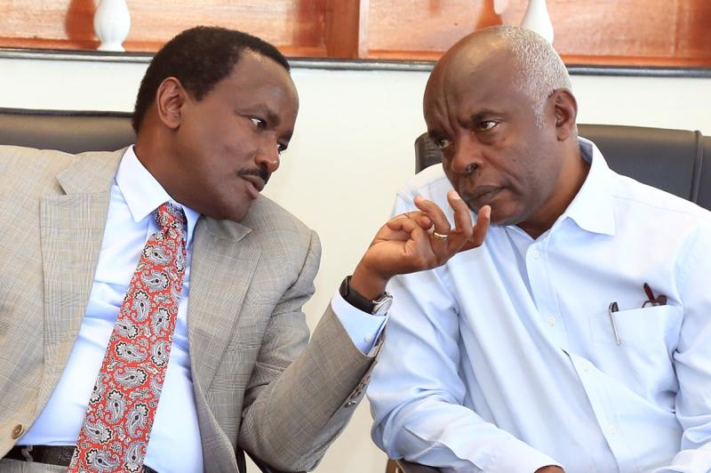 Kibwana dares Kalonzo to eject him from Wiper over subscription fee