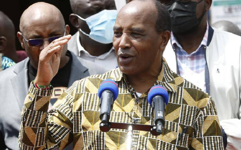 Kimemia denies interfering in affairs of assembly
