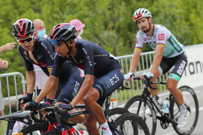 Last year's winner Egan Bernal quits Tour de France race