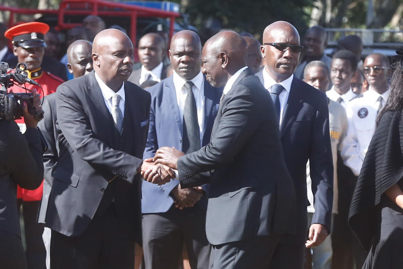Let us shun divisive politics, Ruto