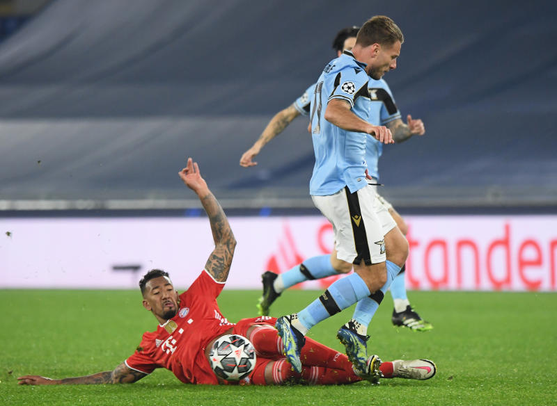 Lewandowski hits goal landmark as Bayern Munich hammer Lazio 4-1 in Rome