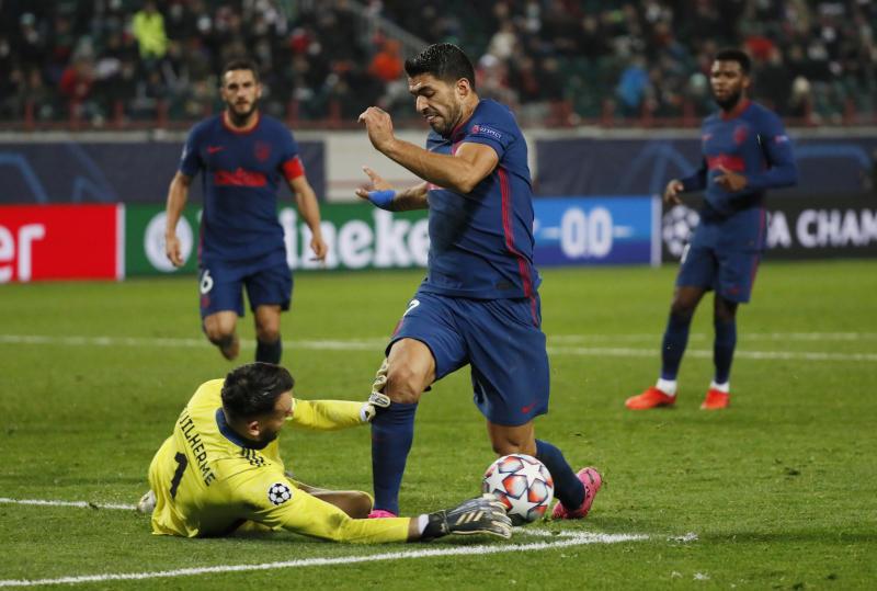 Lokomotiv goalkeeper Guilherme shines as Atletico Madrid draw 1-1