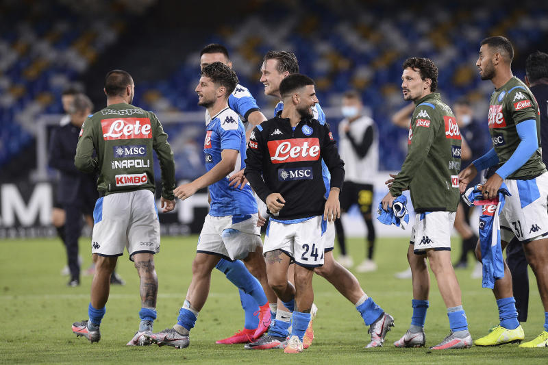Lozano gives Napoli win at Genoa after early goal disallowed