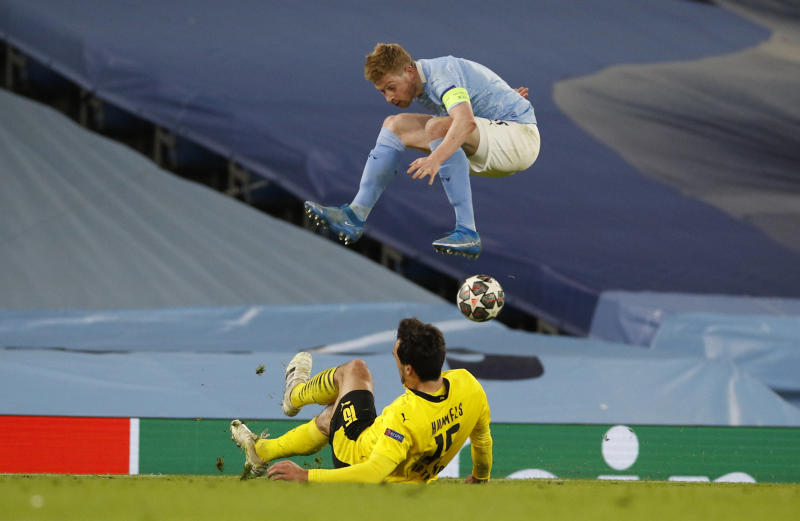 Man City playmaker KDB signs contract extension until 2025