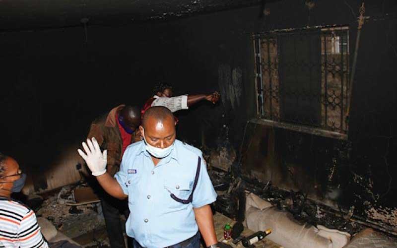 Man found dead in burnt house in Tena Estate