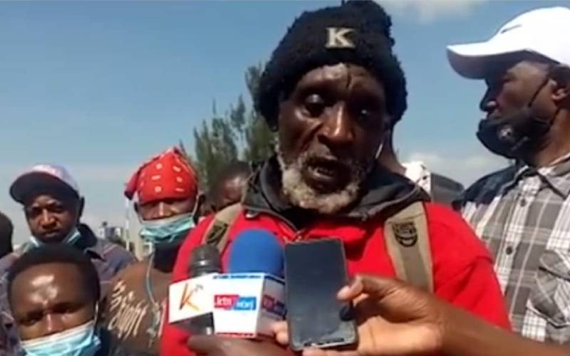 Man who walked 230km to attend Mashujaa celebrations left stranded at hotel