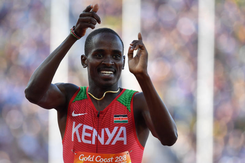 Manangoi to athletes: Keep training, maintain high morale, be patient