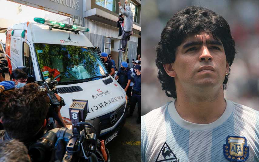 Maradona's heart was 'twice normal weight' as investigation into death continues