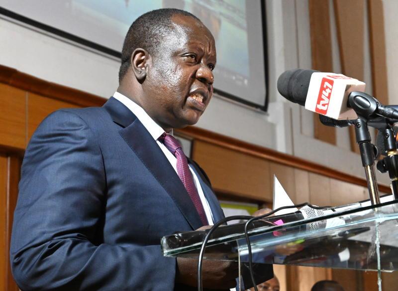 Matiangi says Uhuru, Raila will chart his path