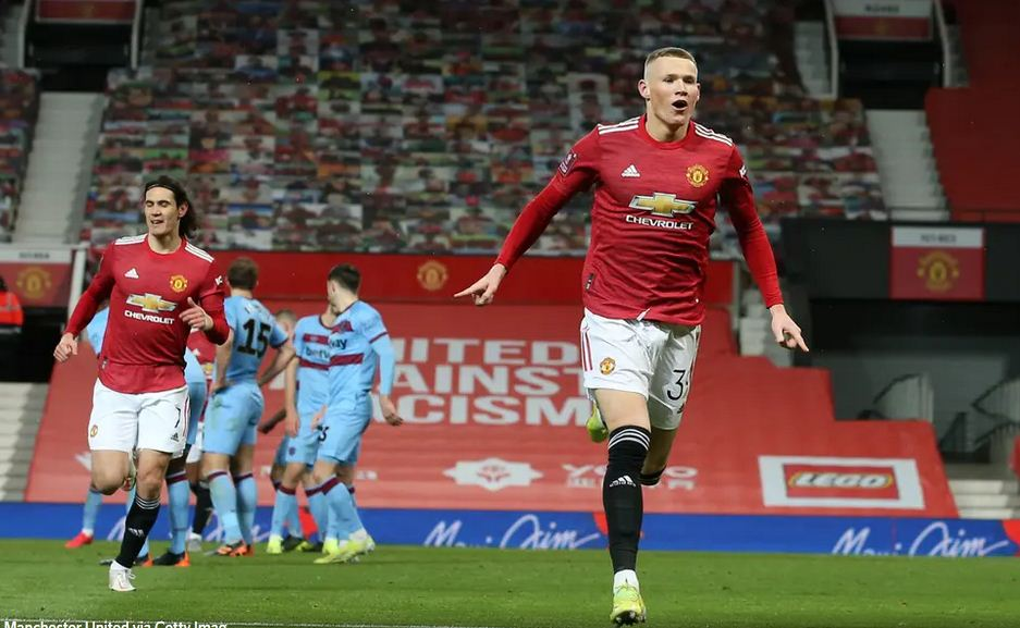 McTominay goal sends Man Utd into FA Cup quarter-finals