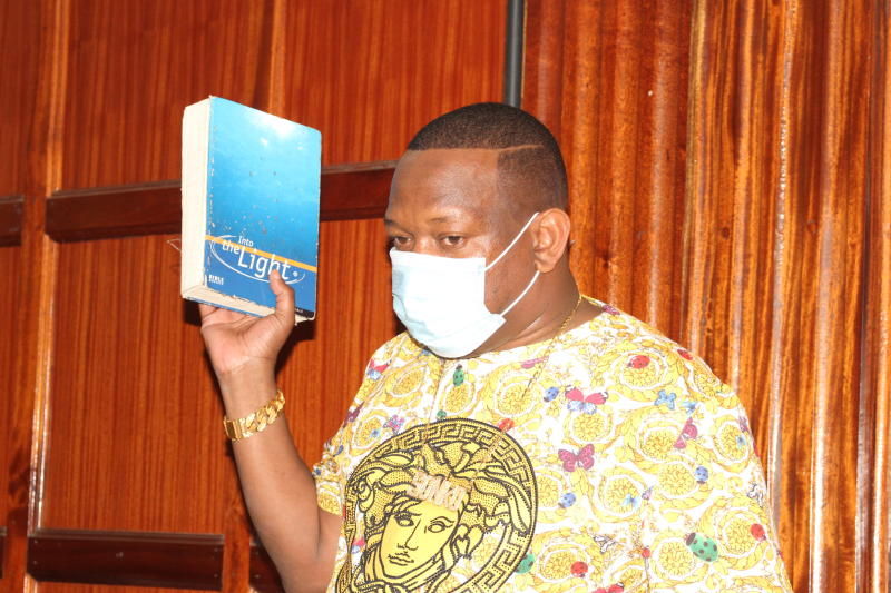 Mike Sonko accuses private developer of illegally taking land meant for school