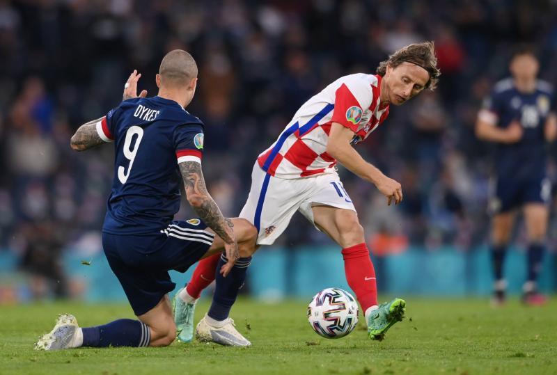 Modric and Perisic send Croatia through at Scotland's expense