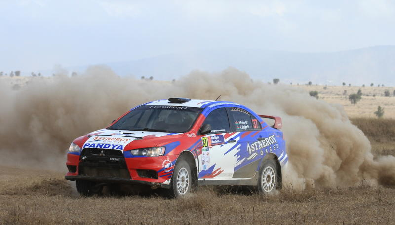 Motorsport: Pandya and Cannobio lead Coast onslaught in KCB Nakuru rally