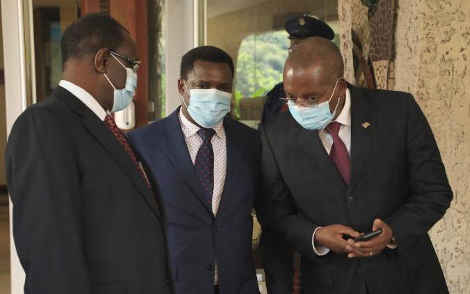 Mt Kenya bigwigs to support Kimunya after private 'lunch'