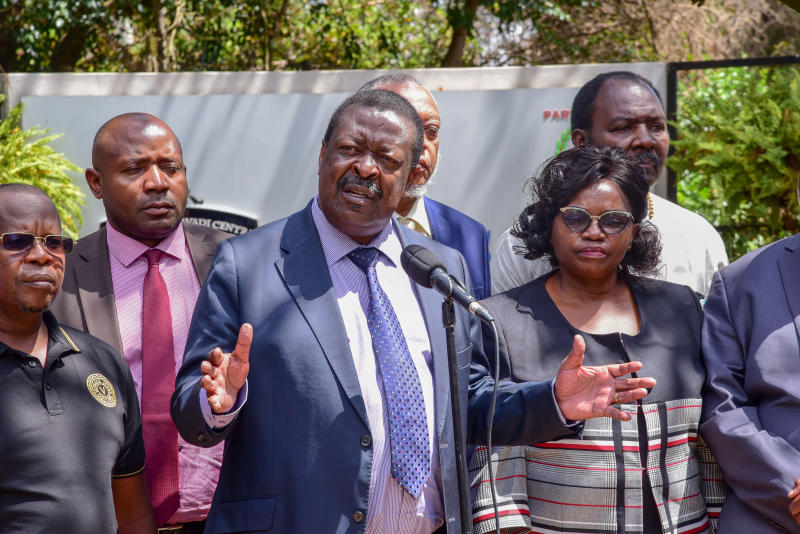 Mudavadi: Youths need incentives not handouts, empty promises