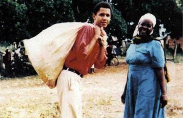 My first time in Kenya, we bathed in the open: Barack Obama