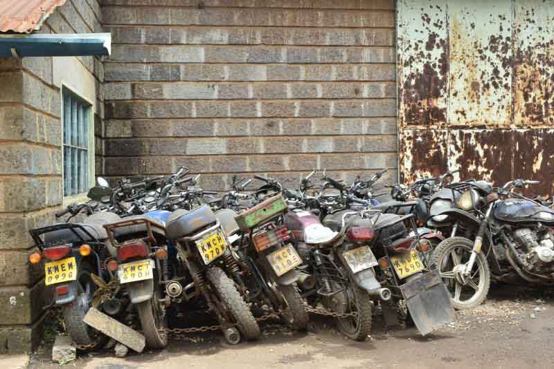 Nairobi county to auction 193 unclaimed motorbikes