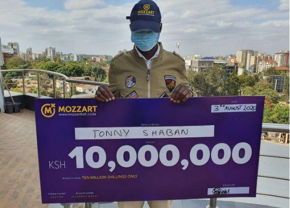 Nakuru family man wins Sh10 million on MozzartBet